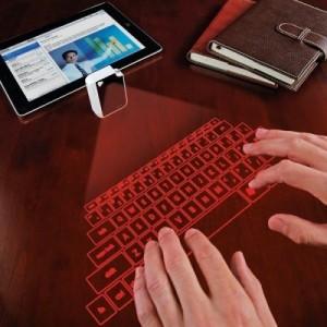 Virtuel laser keyboard
