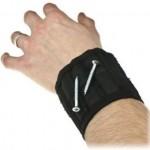 magnetisk armbånd til skruer og søm