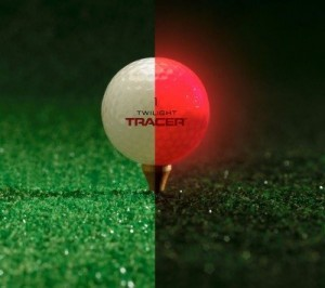 Selvlysende golfbold