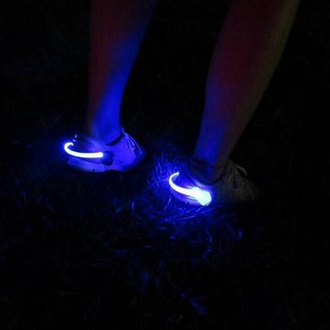 lys i skoene