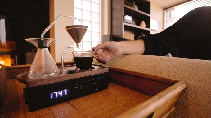 Kaffebrygger til soveværelset