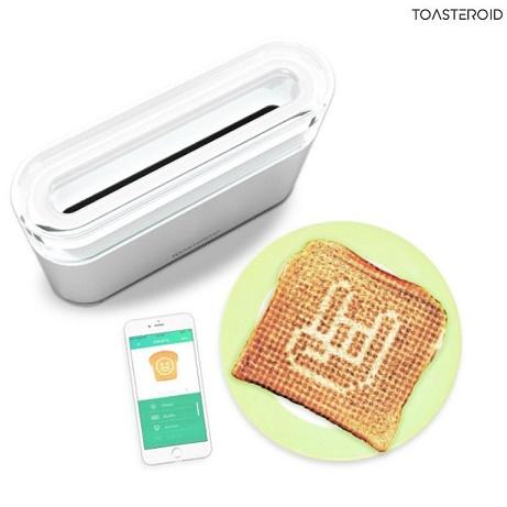 Toaster der kan lave billeder på din toast