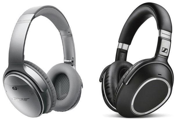 Trådløse lyddæmpende høretelefoner