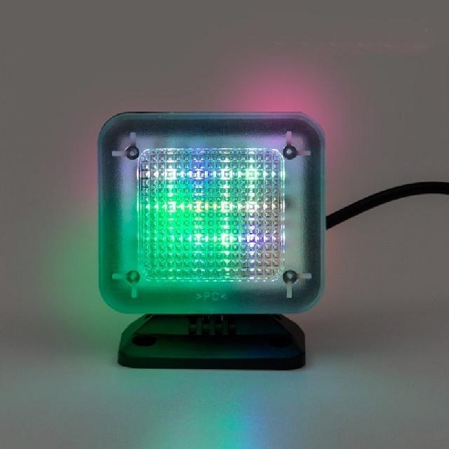 Lys der simulerer tv