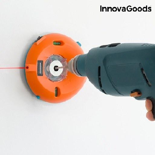 Boremaskine støvopsamler med laservaterpas