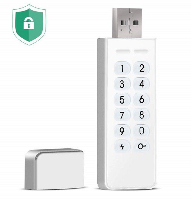 USB stick med kode beskyttelse