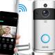 Ringklokke med indbygget kamera