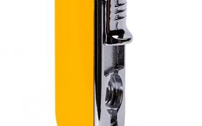 Gul Cohiba Cigar lighter med indbygget cigar skærer