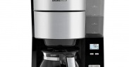 kaffemaskine med indbygget kaffekværn