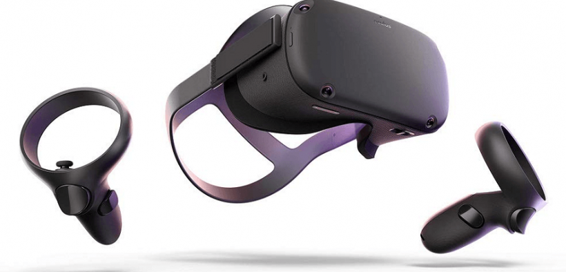 Oculus quest virtual reality headset