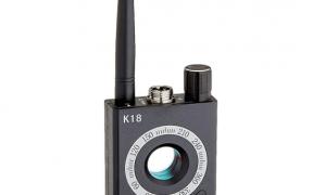 Kamera detektor der kan opdage skjulte kameraer