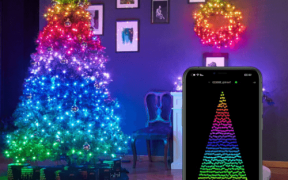 Lys til juletræ du kan styre med telefonen