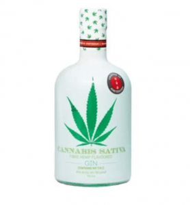 Gin med cannabis