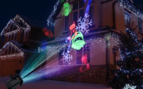 projektor til jul og halloween