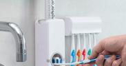 Dispenser der kan dosere tandpasta