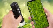 Mikroskop du kan bruge sammen med telefonen