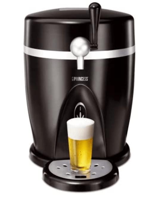 Øl dispenser der kan lave fadøl og køle flasker